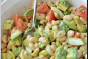 Avocado-White Bean Salad